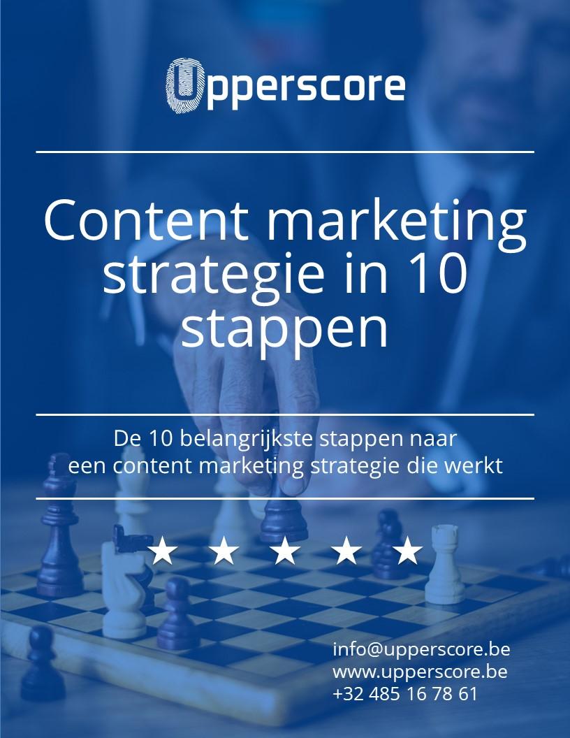 content marketing strategie in 10 eenvoudige stappen